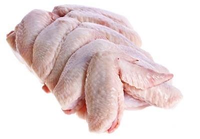 Alas de Pollo Jumbo frescas y congeladas Precio: 3.25 €/Kg / 2.75 €/ kg