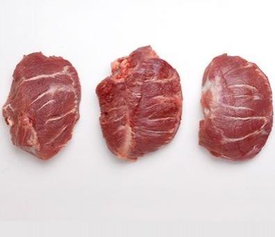 Carrilladas de Cerdo Sin Hueso - Externa e Interna - Congeladas (Paquete de 2 Kg) Precio: 5.25 €/Kg