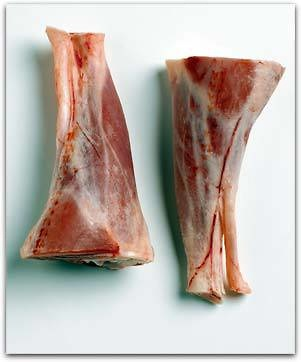 Garrones o Cañeta de Cordero Congelada Nueva Zelanda( Caja 10 Kg ) Precio: 7.45 euros / Kg