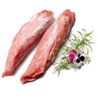 Solomillo Cerdo nacional Seco congelado         Precio:  4.98 €/kg